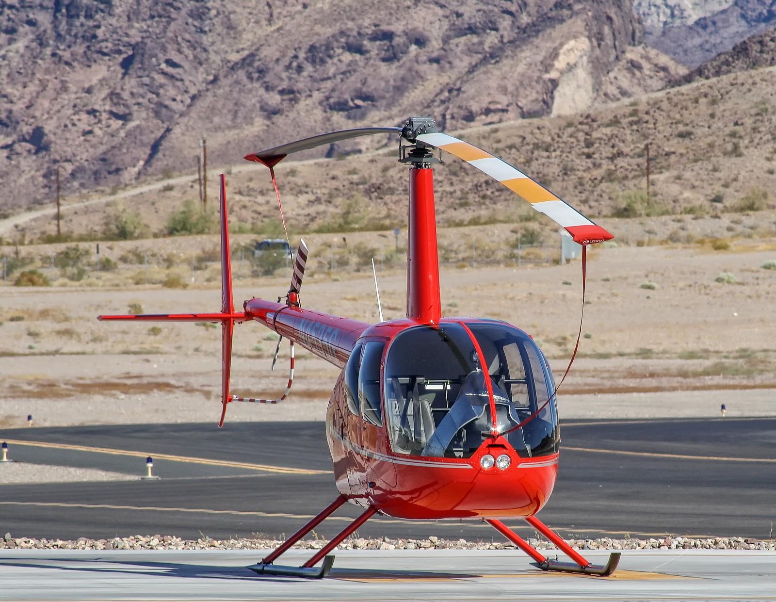 Аренда Вертолета R-44