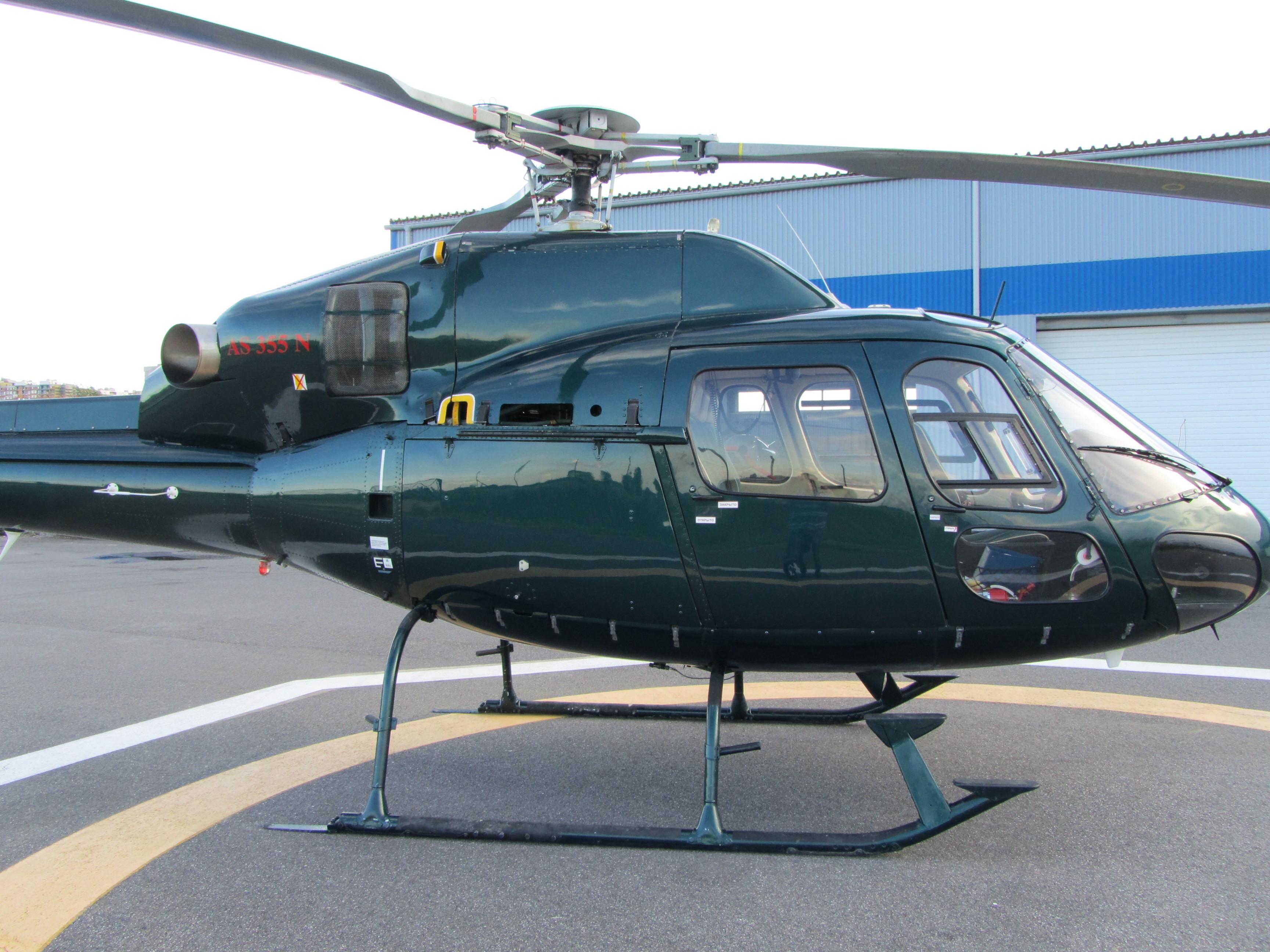 Аренда Вертолета EC AS 355 NP